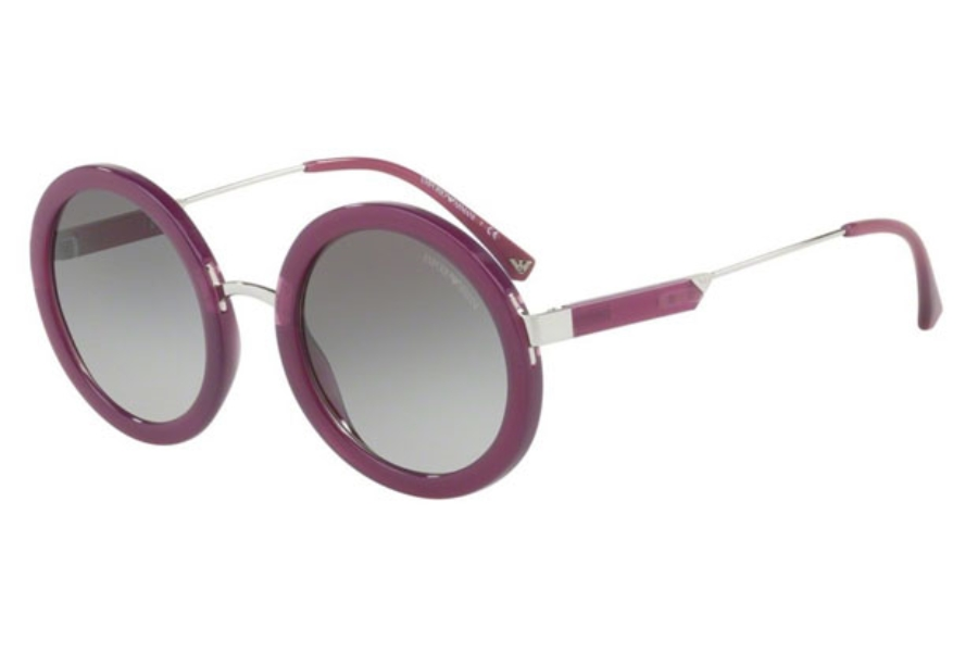 Emporio Armani EA4106 Sunglasses in 561111 Opal Violet / Grey Gradient